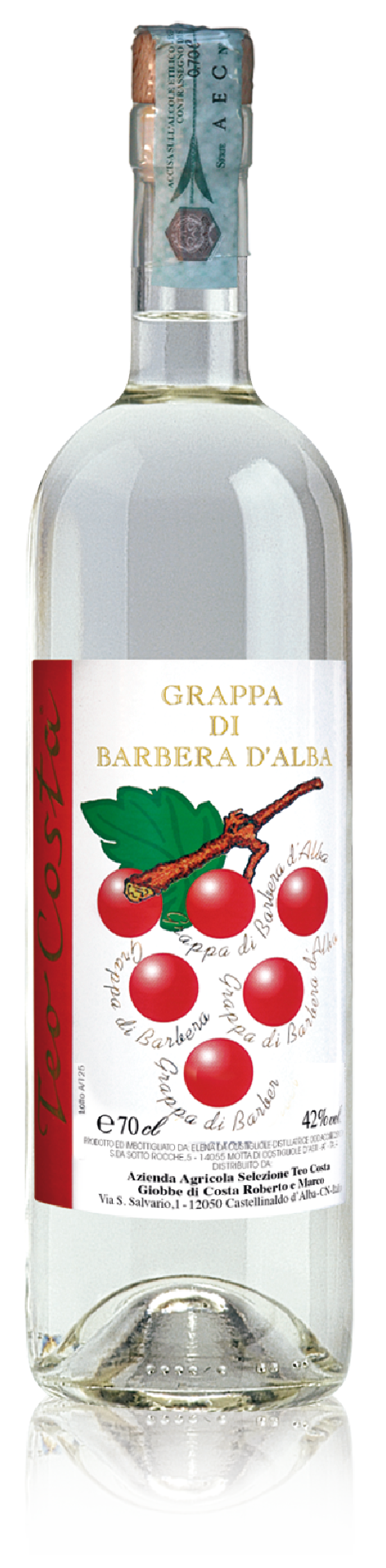 Teo Costa - Grappa Barbera